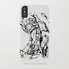 head and neck iPhone Case