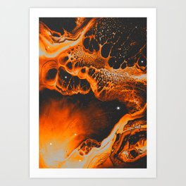 LA FIN DE TOUT Art Print