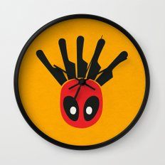 The Merc With A Mouth Alternative art Wall Clock