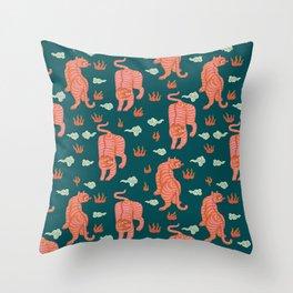 Bengal tigers Throw Pillow