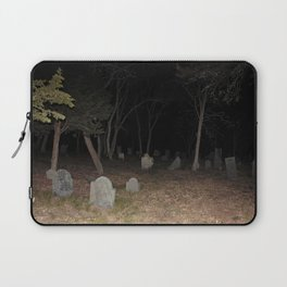 Cemetery Forest Laptop Sleeve