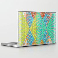 diamonds Laptop & iPad Skins featuring Diamonds by elikourY