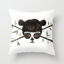 Pirate Panda Throw Pillow