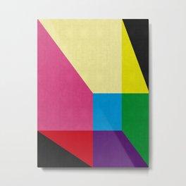 Modern Geometry XII Metal Print