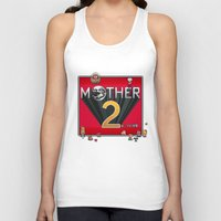 earthbound Tank Tops featuring Alternative Mother 2 / Earthbound Title Screen by Studio Momo╰༼ ಠ益ಠ ༽