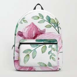 FLOWERS WATERCOLOR Backpack