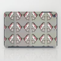 trout iPad Cases featuring Rainbow Trout by Emi Claire Brown