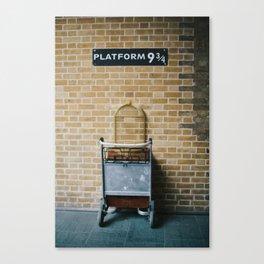 Platform 9.3/4 Canvas Print