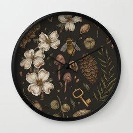 Nature Walks Wall Clock