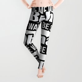 Trump Makes Me Want To Be Canadian Leggings