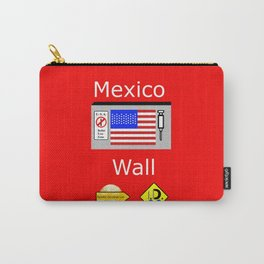 Mexico Wall Carry-All Pouch