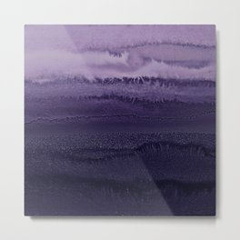 WITHIN THE TIDES ULTRA VIOLET by Monika Strigel Metal Print