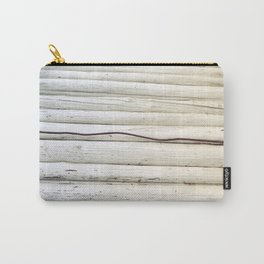 Wire on Wood Carry-All Pouch