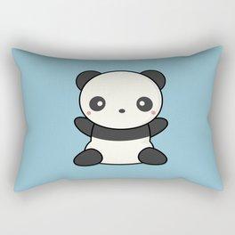 Kawai Cute Hugging Panda Rectangular Pillow