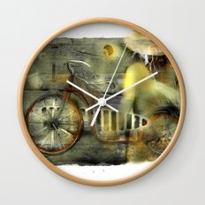 My Scooter Wall Clock