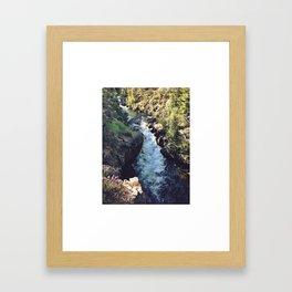 Klamath Falls, OR. Framed Art Print