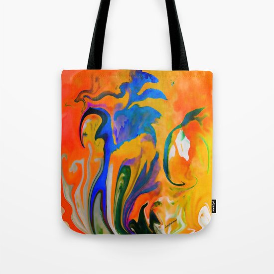 A TIME AND A PLACE FOR EVERYTHING ...ABSTRACT Tote Bag