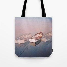 Moving softly Tote Bag