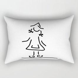Dutchwoman the Netherlands Rectangular Pillow
