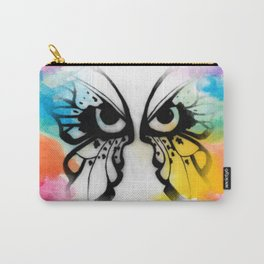 Skittle Butterfly Carry-All Pouch
