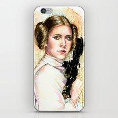 Princess and General iPhone & iPod Skin