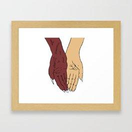 Balance and Union Framed Art Print