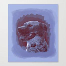 Nature Dog Canvas Print