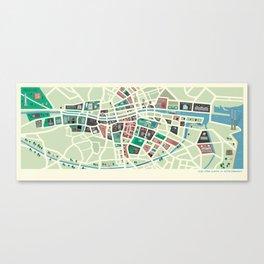 Baile Átha Cliath (Dublin) Canvas Print