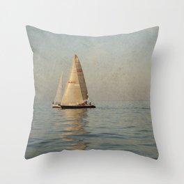 Calm Seas Throw Pillow