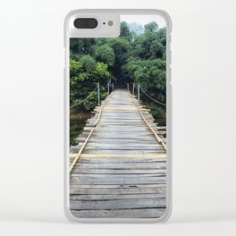 Ready for Adventure Clear iPhone Case