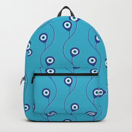 Nazar pattern - Turkish Eye charm #3 Backpack