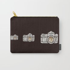 White Camera Carry-All Pouch