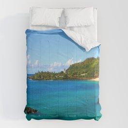 Waimea Bay ... By LadyShalene Comforters