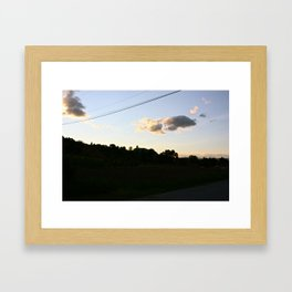 I could really use a wish right now Framed Art Print