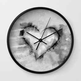 Love Unfolding No.26K by Kathy Morton Stanion Wall Clock