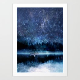 Night Sky Art Print