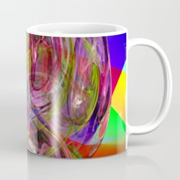 Snail's bag fraught colors ... Coffee Mug