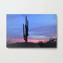 Majestic Saguaro Metal Print