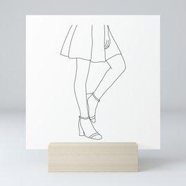 Body language Mini Art Print