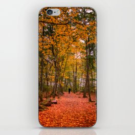 October Forest iPhone Skin