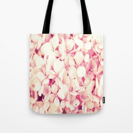 Rose Pink Flowers (Hydrangea) Tote Bag