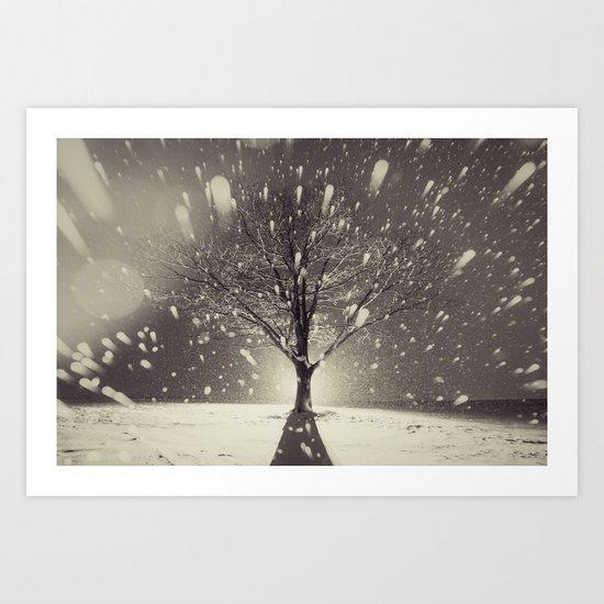 The Fury of Winter Art Print