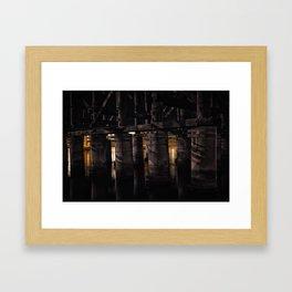 Under The Bridge // 3 Framed Art Print