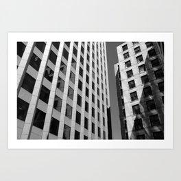 Bostonian Architecture Art Print