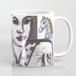 Girls & Horses II Coffee Mug