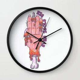 Even Idols Die Wall Clock