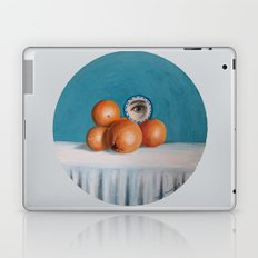 the orange girl Laptop & iPad Skin