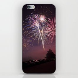 Fireworks iPhone Skin