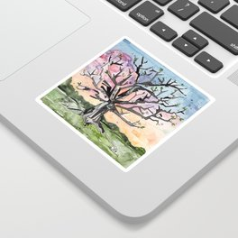 Spring Tree Sticker