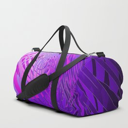 Complex Spiral - Purple Duffle Bag